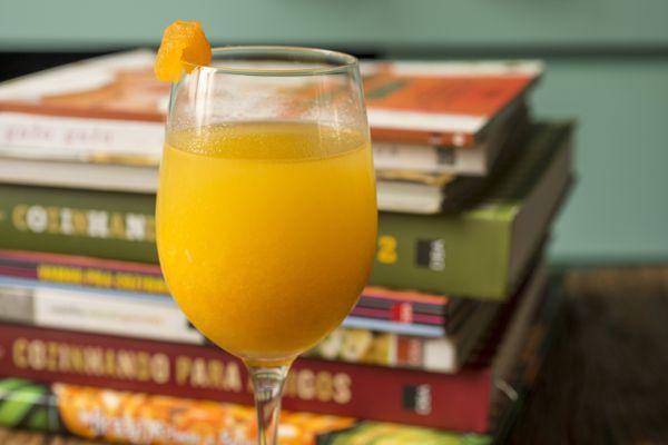 Suco de tangerina e gengibre