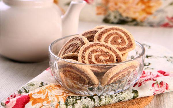 Biscoitos Duas Cores
