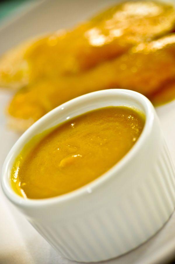 Molho de manga e mostarda