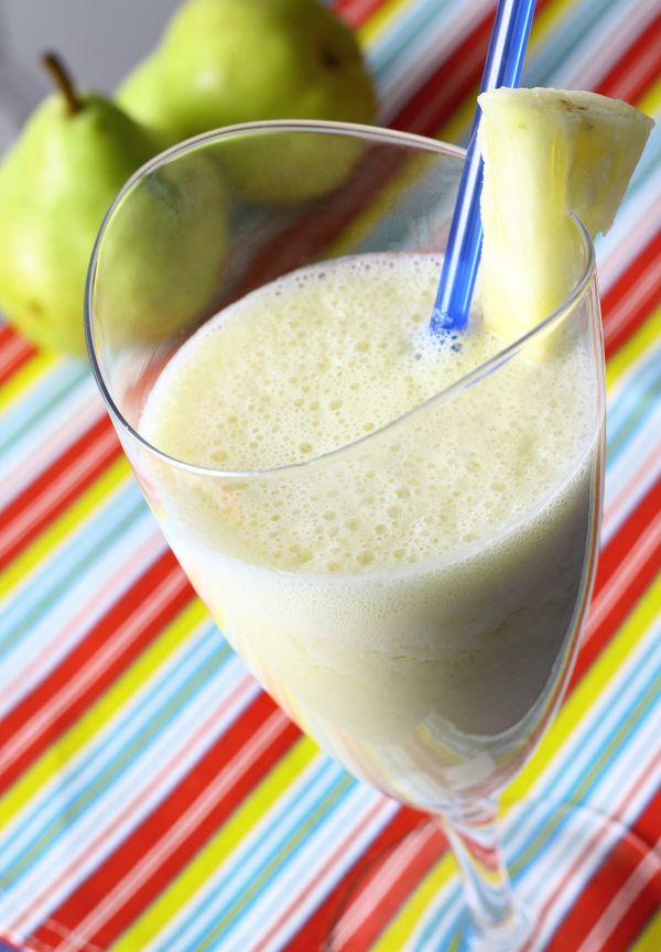 Vitamina de Coco, Abacaxi e Pêra