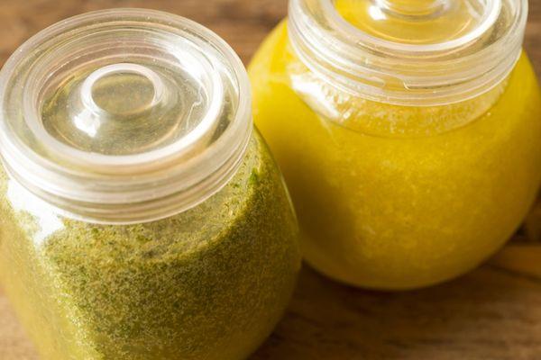 Molho de mostarda e mel para salada