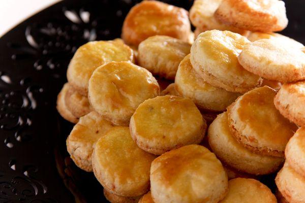 Biscoitos de roquefort