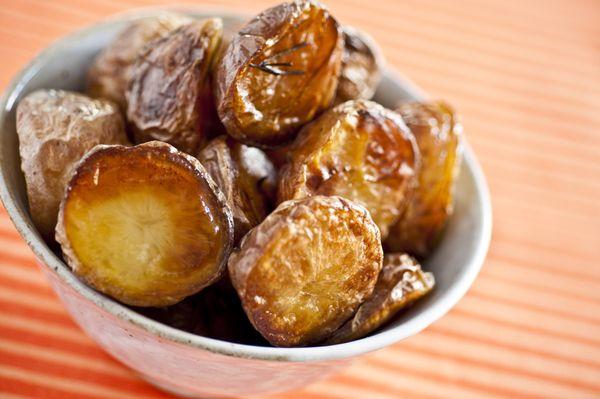 Batatas com alecrim