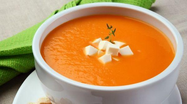 Sopa de Abóbora e Queijo