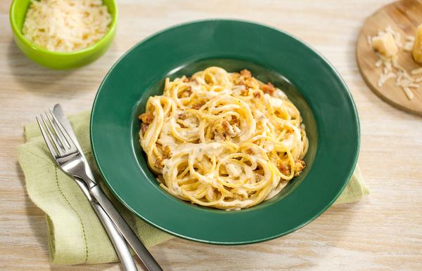 Spaghetti Cremoso à Carbonara