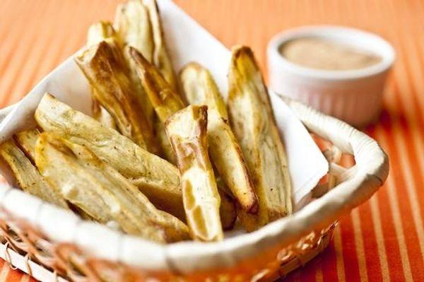 Palitos de batata doce