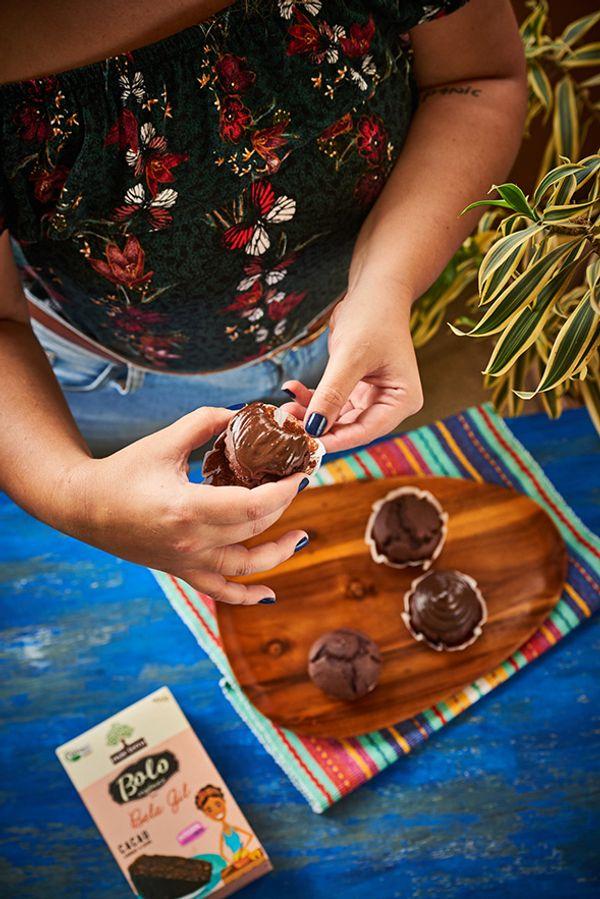 Cupcake Natural de Cacau