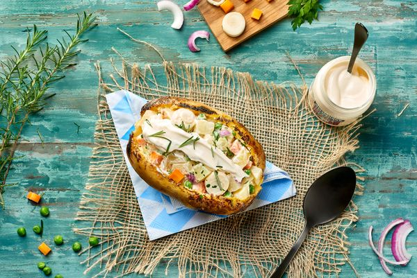 Salada De Batata Vegana