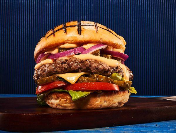 Hambúrguer Estilo Americano com Picles