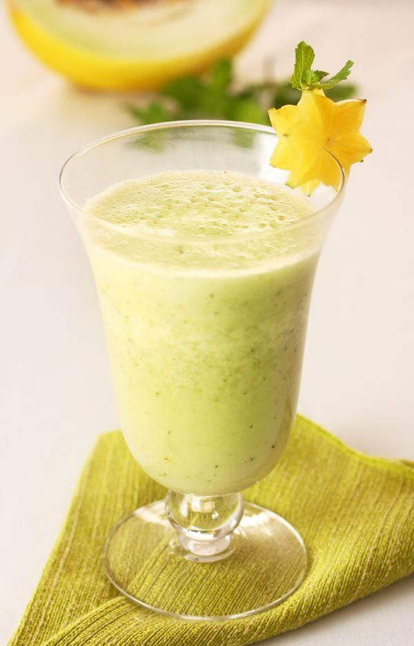 Bebida de Frutas com Hortelã
