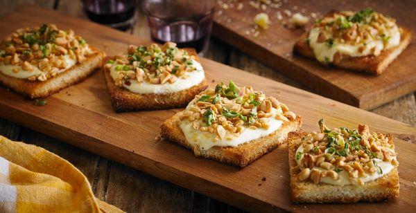Torradinhas de Amendoim